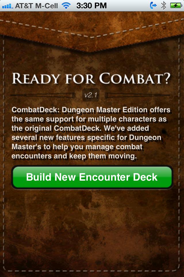 Screenshot CombatDeck: Dungeon Master Edition